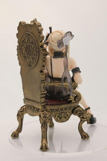 16 см Судьба Ночь Сабер трон фигурку ПВХ игрушечные лошадки Коллекция аниме мультфильм модель коллекционные 4