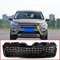 Для Land Rover Discovery Sport 2015 2017 ABS черный основной корпус автомобиля Передние решетки сетки решетки отделка авто Замена наружных частей