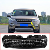 For Land Rover Discovery Sport 2015 2017 ABS Black Main Body Car Front Grilles Mesh Grills Trim Auto Replacement Exterior Parts