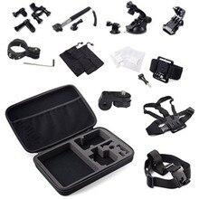 Bike Handlebar Holder Mount For Xiaomi Yi Action Camera Bag Tripe Tripod Monopod for GoPro Hero 3 4 Sj4000 Xiaomi Yi Accessories