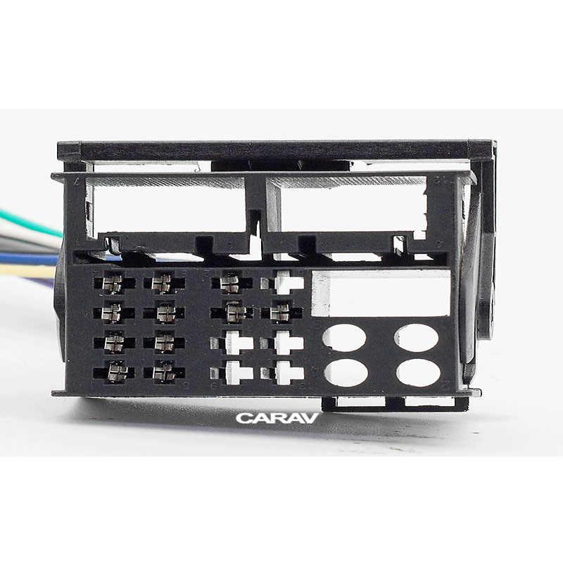 CARAV 12 から 124 ISO ラジオアダプタ MERCEDES-BENZ オペル配線ハーネス織機ケーブルプラグアダプター