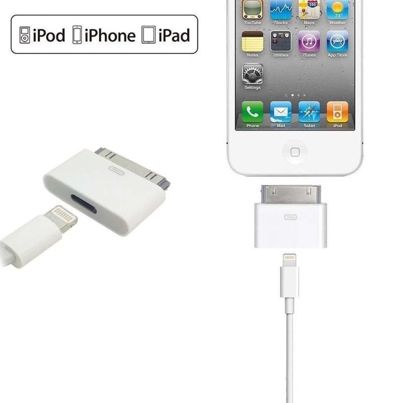 Convertisseur adaptateur mâle 8pin femelle à 30pin pour iPhone4 4S iPad2 3 iPad Touch3 4 haute qualité