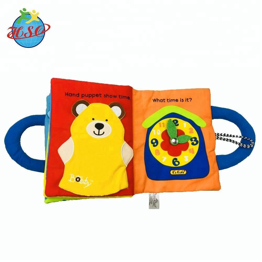 Wholesale Animal Printed Children Book Custom Educational Toys Book For Kids