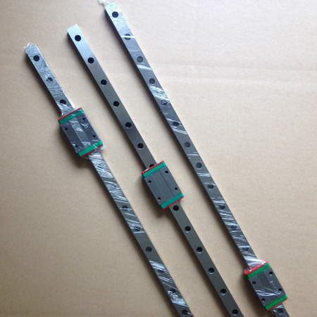 3x 400mm MGN12-1H-L400 Linear Rail and Carriage for Kossel mgn12 1h l600 linear rail and carriage for kossel xl