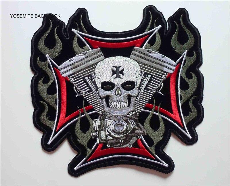 Grande hierro Sew en Pantera parche motorista motocicleta moto chaqueta T Shirt Badge