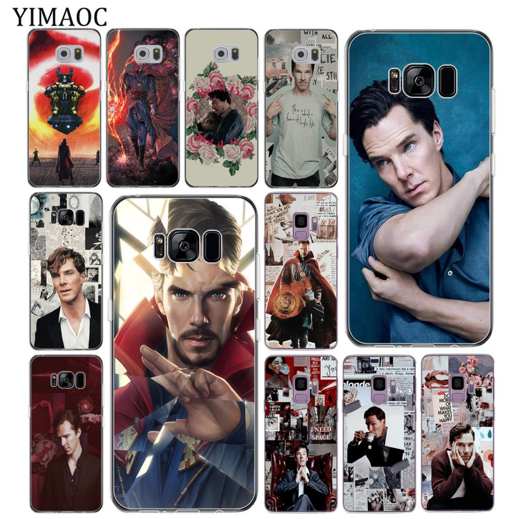 Half-wrapped Case Phone Bags & Cases Industrious Yimaoc Doctor Strange Benedict Cumberbatch Soft Silicone Phone Case For Samsung Galaxy S10 S9 S8 Plus S7 Edge S10e Back Cover