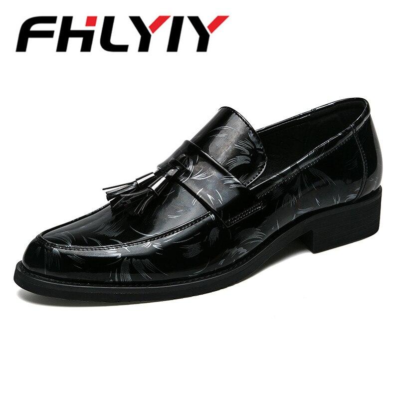 Brand Slip On Formal Shoes Oxfords Pointed Toe Men Dress Shoes Business Wedding Shoes For Male Tassel Zapatos Hombre nokotion 814507 001 814507 501 6050a2731301 mb a01 laptop motherboard for hp pavilion 14 af em2500 cpu ddr3