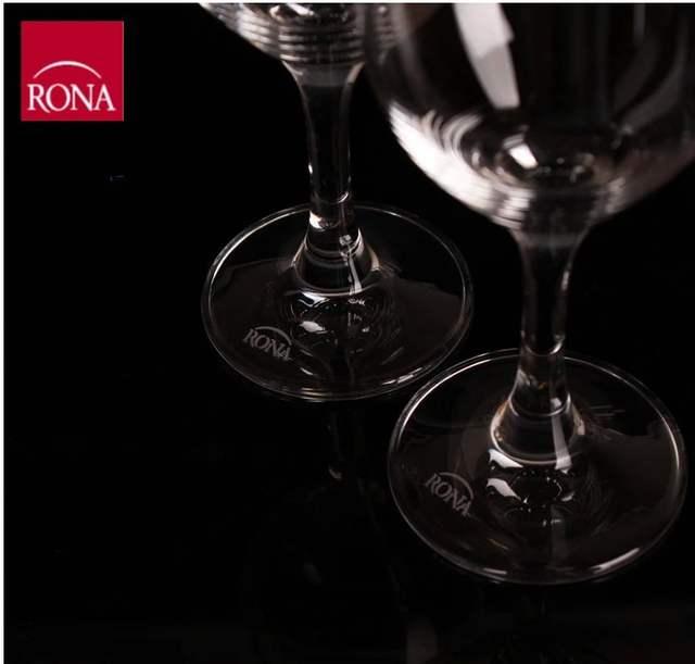 Véritable 140 Tasse Cristal De Gobelet Importé Ml Rona Origine Rouge Blanc Verre Tchèque Vin vYgfb76y