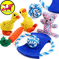 petcircle new arrivals knot pet dog toys durable flying discs knot dog toy for small and large dogs dog trainging chew toys