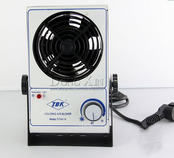 цена на Free shipping TBK Desktop ion fan Maintenance dedicated fan,in addition to electrostatic dust removal single-head ion fan