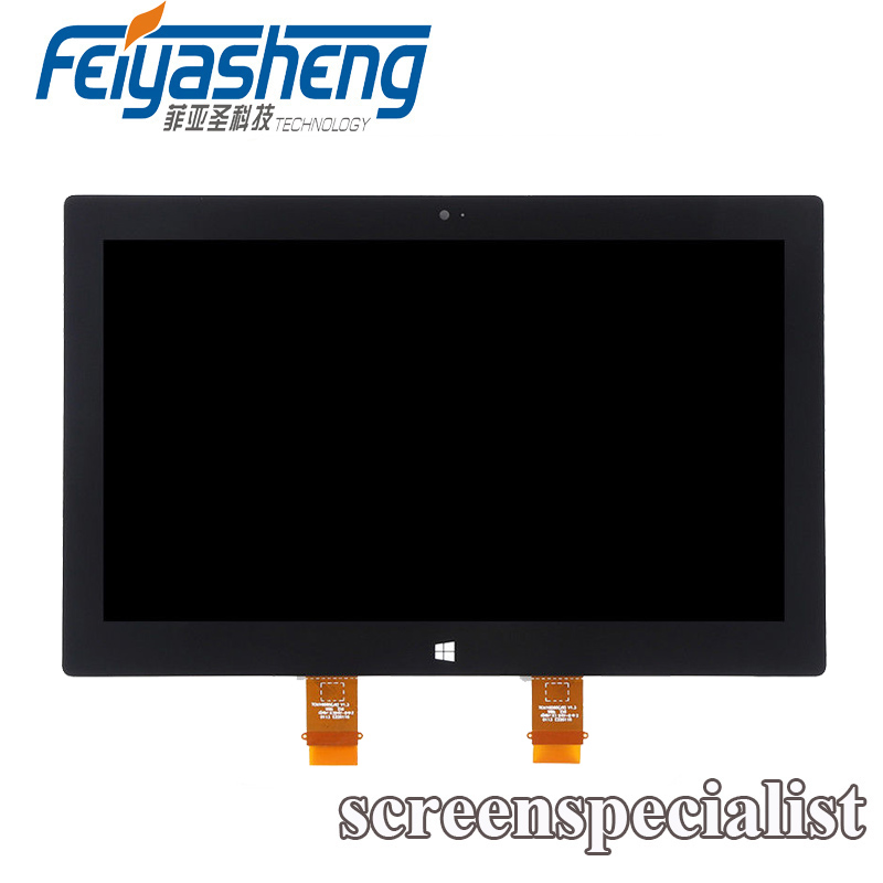Laptop Lcd Screen Straightforward 10.6 Lcd Display Touch Screen Assembly For Microsoft Surface Pro 2 1601 Ltl106hl01-001 Replacement Black