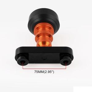 Image 5 - 1 paar Motorrad fahrrad Änderung Teile Körper Shatter beständig Stange CNC Slider Kollision Protector Herbst Schutz Orange