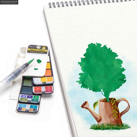 nova qualidade conjunto pintura cor agua
