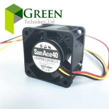 NEW Original Sanyo San Ace 40 1U Server fan 109P0412K3013 4028 40MM PC or server case Big power Cooling fan 12V 0.55A with 3wire цены