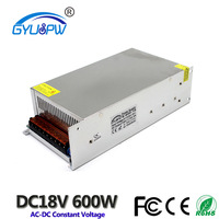 DC 18V 600W Switching power supply AC 220V Constant voltage power supply Stepper Motor Safety Monitoring Power Supply
