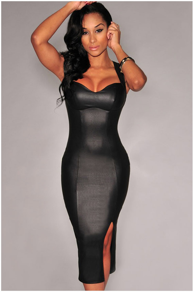 Compare Prices on Sexy Leather Dress- Online Shopping/Buy Low ...