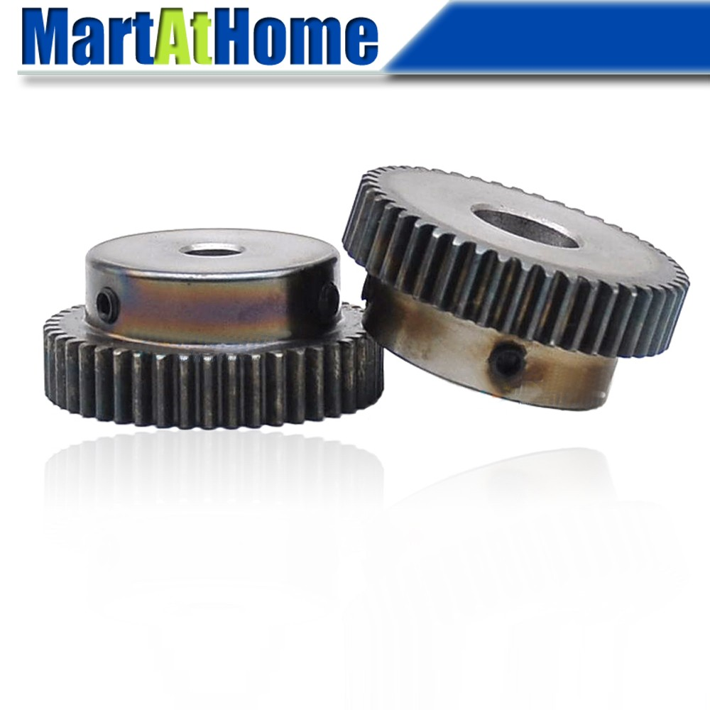 1Mod 55T Spur Gear 45# Steel Pinion Gear Outer Dia 57mm Bore 6//8//10//12mm x 1Pcs