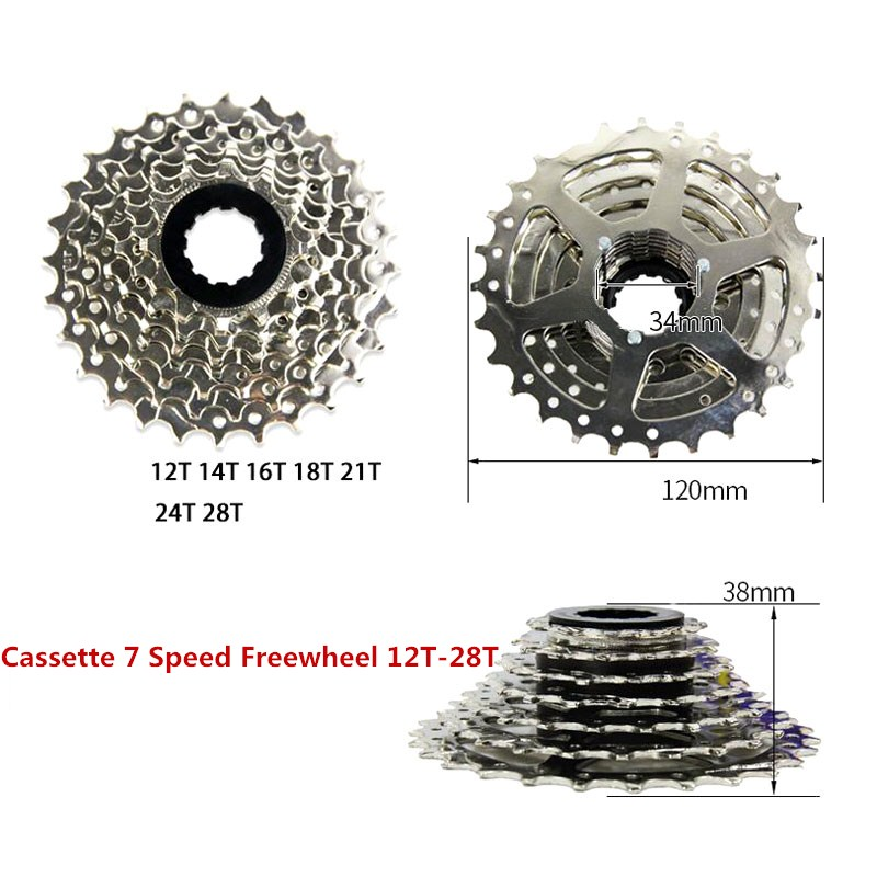 Cassette 7s / 8s / 9s / 10Speed Bicycle freewheel Steel Road - Հեծանվավազք - Լուսանկար 2