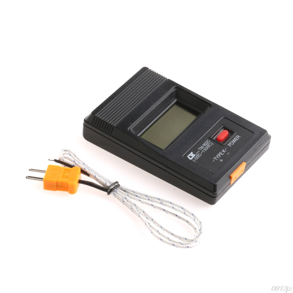 TM-902C Digital LCD K Type Thermometer Single Input + Thermocouple Probe New Dls HOmeful