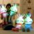 1 unid 70 cm Encantador Estupendo Luminious Gleamy Dotada de Conejo Muñeca Conejo de Peluche de Juguete Colorido Intermitente Almohada Día de San Valentín regalo