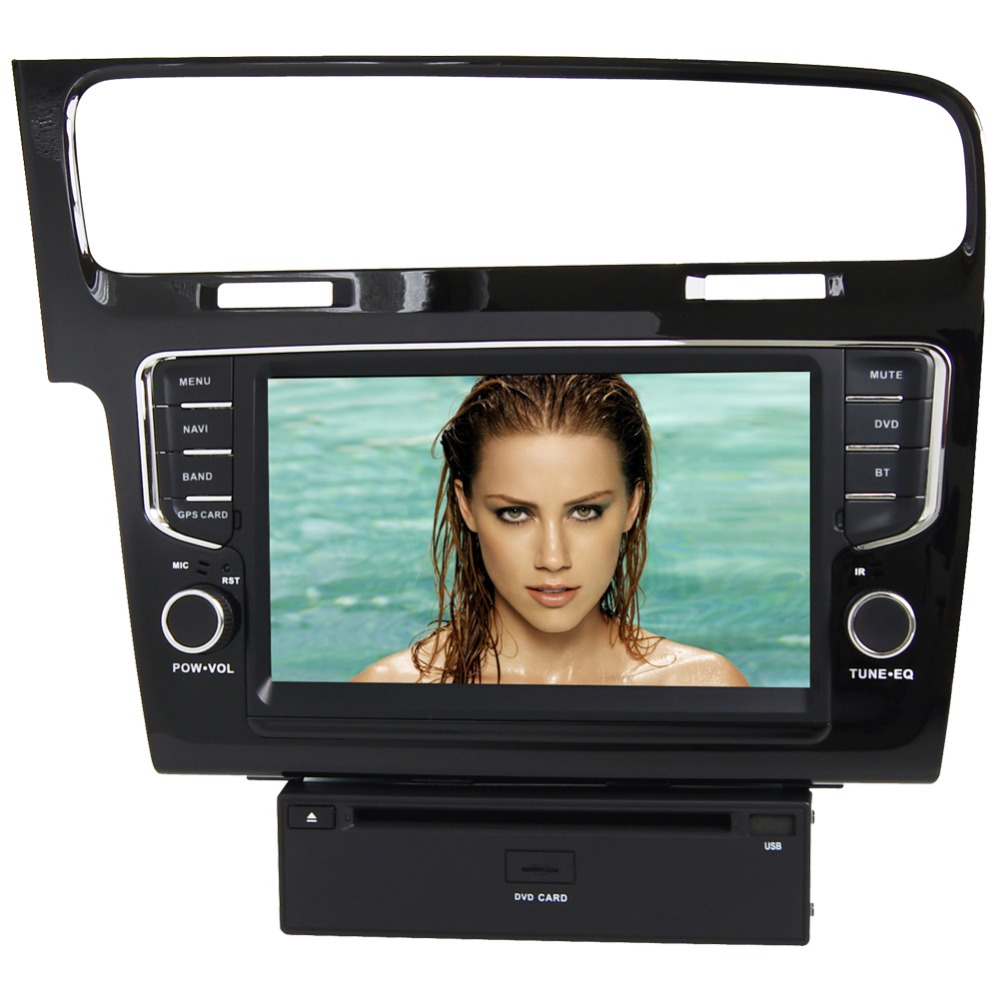 8 HD 1024*600 4 Core Android Car DVD GPS Radio Video Stereo Navigation Player for VW Golf 7 2013 2014 2015 2016 TPMS DVR WIFI цена