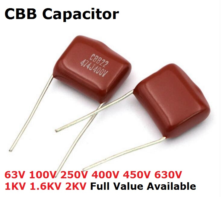 5Pcs 2KV 104 0.1UF 100NF High-voltage Ceramic Capacitor