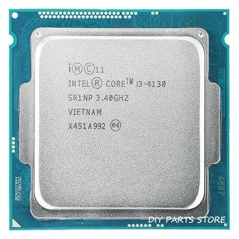 Intel core  i3-4130 i3 4130 LGA 1150 3.40GHz DUAL-core 3.4MHZ RAM DDR3-1333, DDR3-1600 GPU HD4400