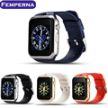 Femperna Smart Watch GD19 Bluetooth Часы Часы Smartwatch Наручные Спорт Для Apple iPhone Android Телефон с Камерой PK GT08