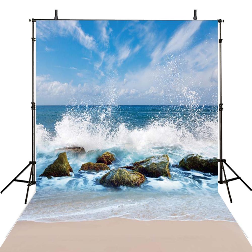 Beach Photography Backdrops Kids Vinyl Backdrop For