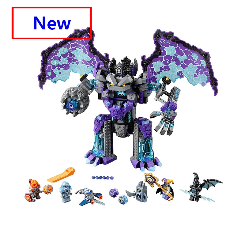 Compatible With Lego 70356 Knights Hero The Stone Colossus of Ultimate Destruction Building Blocks DIY Bricks Anime Figures Toys knights of sidonia volume 6