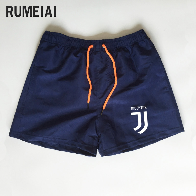 New Brand Summer Leisure Men Shorts Color Patchwork juventus Joggers Short Sweatpants Man Bermuda Shorts roupa masculina