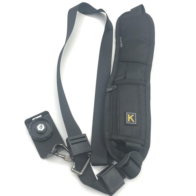 HEONYIRRY Quick Rapid Camera Single Shoulder Strap Black Sling Belt StrapFor Canon For Nikon For Sony DSLR Camera