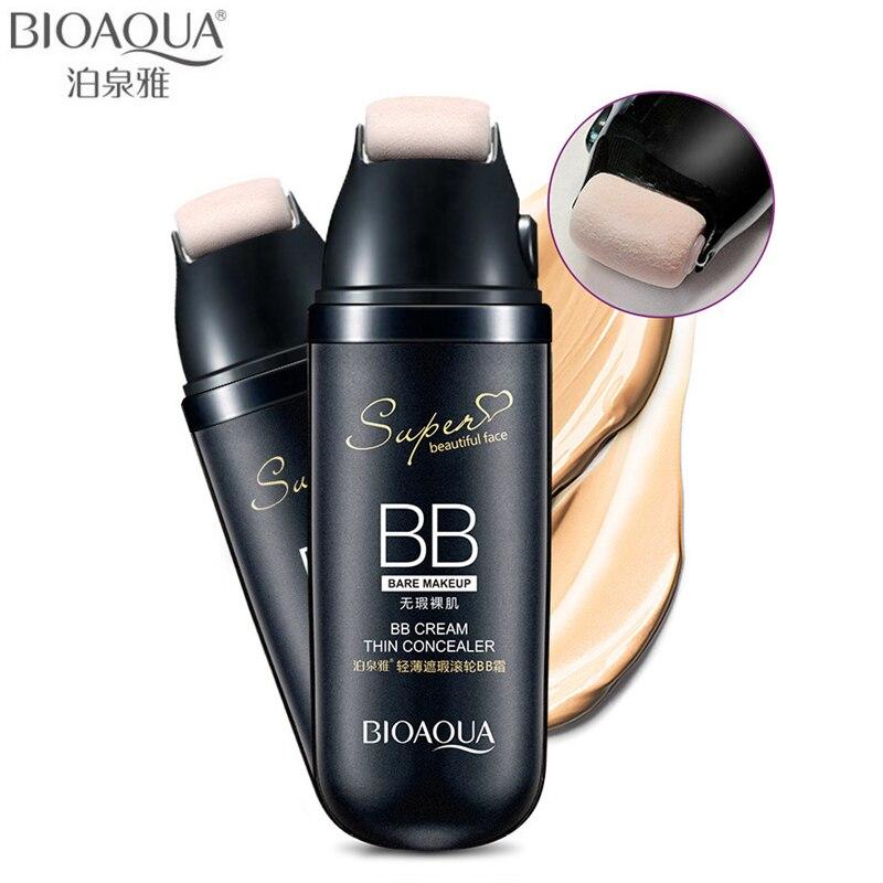 BIOAQUA бренд 30 г прокрутка жидкая Подушка BB крем консилер, база под макияж увлажняющая Косметика основа для лица крем для макияжа|BB и CC-кремы|   | АлиЭкспресс
