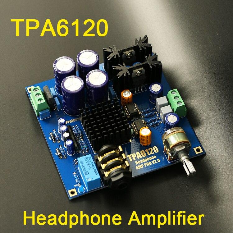 buy tpa6120 headphone amplifier hifi amp. Black Bedroom Furniture Sets. Home Design Ideas