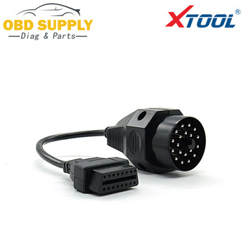 OBD2 Connector for BMW 20pin OBD II Adapter for BMW 20 pin to OBD2 16 PIN Female Connector e36 e39 X5 Z3 image