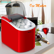 Ice Maker Small Type Ice Cube Maker Fully Automatic Ice Making Machine automatic electric taiwanese shaved ice maker kakigori machine