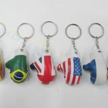 Пластиковые боксерские перчатки мешок кулон мини-боксерские перчатки брелок маленькие украшения спортивные Поклонники рекламы сувениры брелок для ключей