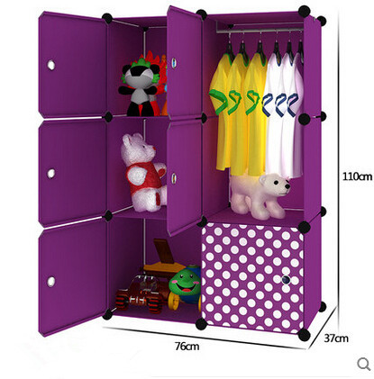 Simple Childrens Baby Wardrobe Lockers Finishing Cabinet Clothes Children Plastic Drawer Storage Cabinets In Wardrobes From Furniture On