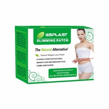 30patch=1Box Magnetic Slimming Patch Lose Weight Burning Fat Acupoints Navel Paste Health Slim Detox Adhesive