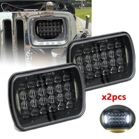 5X7 Led Headlight 7X6 inch headlamp for Jeep Cherokee XJ 1984 2001 DOT Approved 5D 72W