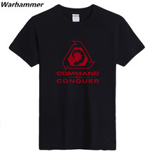 Command Conquer Men T shirt Fashion Style Summer Clothing T shirt Women Game Print Cotton Pattern Tees O-neck Short Sleeve S-3XL