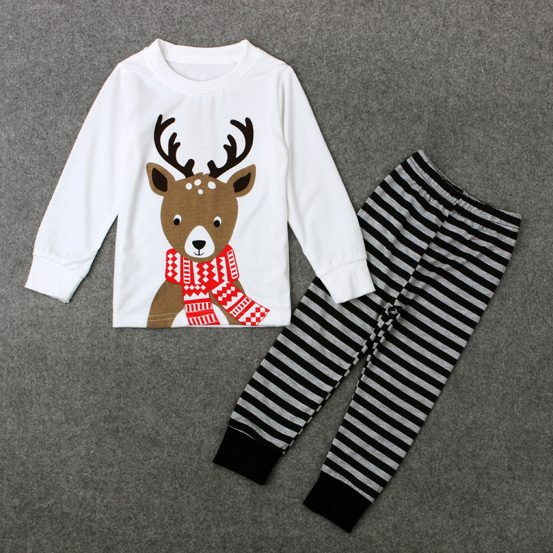 dcb3c9a89c 2Piece 2 7Years Spring Autumn Baby Boys Girls Clothing Set T shirt+Pants Christmas  Pajamas Kids Tracksuit Toddler Clothes BC1423-in Clothing Sets from ...