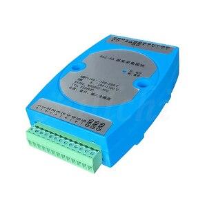 Image 4 - 8 strada isolamento K termocoppia PT100 resistenza termica di trasferimento RS485 trasmettitore modulo di acquisizione temperatura MODBUS RTU