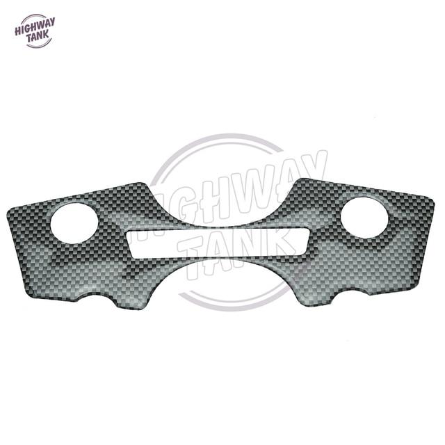 1 Pcs Motorcycle Carbon Fiber Pattern Top Triple Clamp