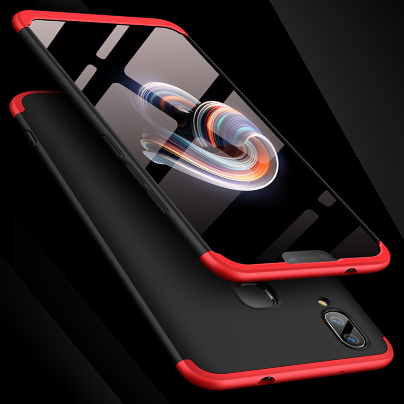 X21 Luxury 360 Degree Case For VIVO X21 Cases With Tempered Glass Full Cover For VIVO X21 X 21 Phone Case 6 28 39 39 in Fitted Cases from Cellphones amp Telecommunications