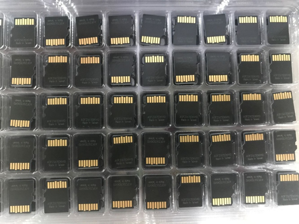 100PCS A Lot 64MB 128MB 256MB TF Card Micro TF Card Micro Memory Card For Cellphones