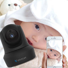 Vstarcam C29 Baby Monitor 720P IP Camera WiFi Motion Detection Night Vision Audio CCTV Security Network Wireless Black