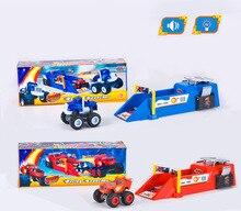 1 шт. Пламя storm Монстра Машины Launcher горячие колеса гонки игрушечных Автомобилей 26.5 см со звуком и музыкой blaze и монстра машины автомобиля
