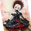 1/4 Bjd doll clothes dress set - - - - elegant queen limited edition