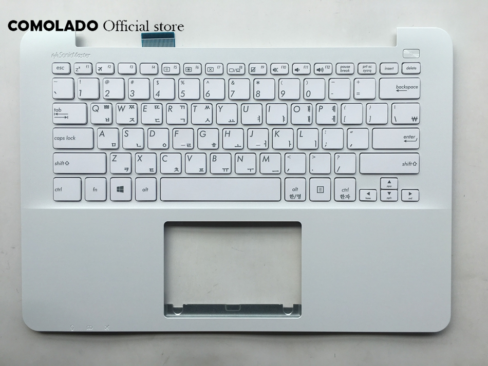 KR Korean keyboard For <font><b>Asus</b></font> <font><b>X302</b></font> X302L X302LA X302LJ X302U X302UA X302UJ X302UV white keyboard KR Layout image